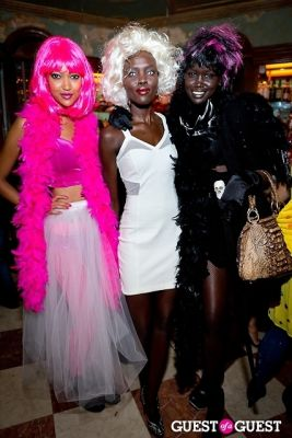mura hellman in Mara Hoffman & Pamela Love celebrate Halloween