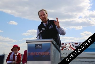 murray fisher in Hornblower Re-Dedication & Christening at South Seaport's Pier 15