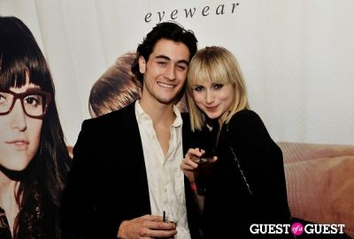 myles lavallee in Tortoise & Blonde Eyewear Collection Launch