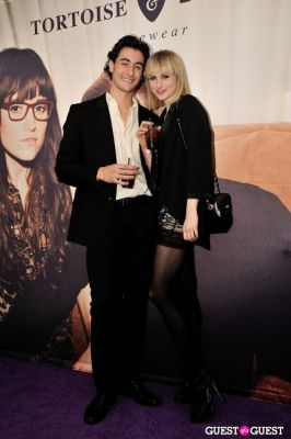 beau campbell in Tortoise & Blonde Eyewear Collection Launch