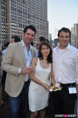 nadav besner in AFTAM Young Patron's Rooftop SOIREE