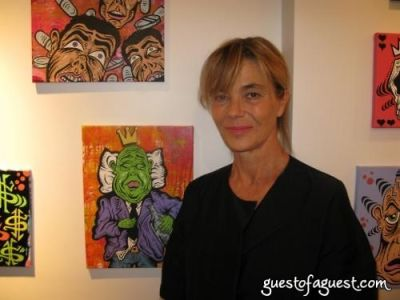 nadine johnson in Damon Johnson Gallery Opening