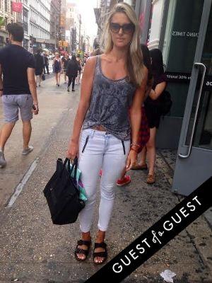 nadja vuc in Summer 2014 NYC Street Style