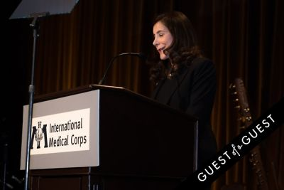 nancy aossey in International Medical Corps Gala