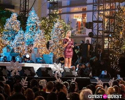 nancy o-dell in The Grove's 11th Annual Christmas Tree Lighting Spectacular Presented by Citi