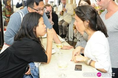 nancy whang in Sud De France Tasting Tables At Donna