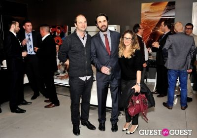 stuart elliott in Luxury Listings NYC launch party at Tui Lifestyle Showroom