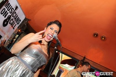 natalia arias in Musicians on Call Presents: A Night with Jullian James at Sway Lounge