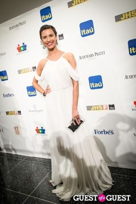 natalia beber in Brazil Foundation Gala at MoMa