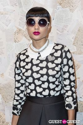 natalia kills in Alice and Olivia Presentation