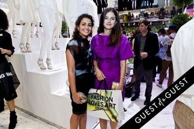 layan alireza in Jeff Koons for H&M Launch Party