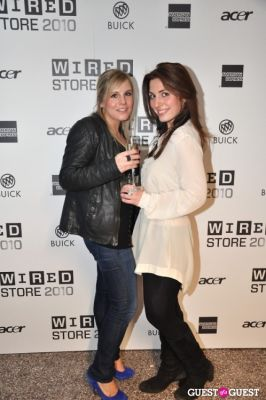 natalie courey in WIRED Store Opening Night Party