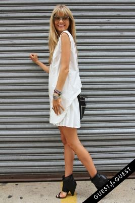natalie decleve in NYFW Style From the Tents: Street Style Day 8