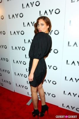 natalie gal in Grand Opening of Lavo NYC