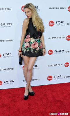 natalie gal in Leica Store Los Angeles: Grand Opening