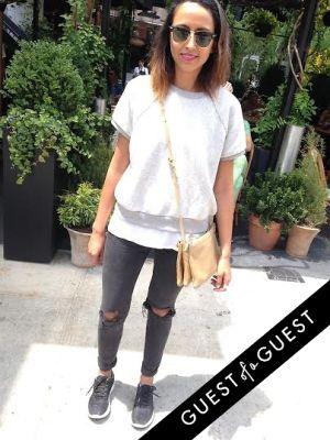 natalie garg in Summer 2014 NYC Street Style