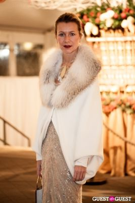 natalie joos in New York Botanical Garden Winter Wonderland Ball