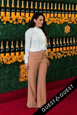 natalie martinez in The Sixth Annual Veuve Clicquot Polo Classic Red Carpet