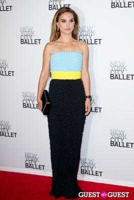 natalie portman in New York City Ballet's Fall Gala