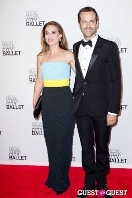 benjamin millepied in New York City Ballet's Fall Gala