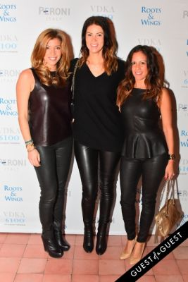 leslie napolitano in The 4th Annual Silver & Gold Winter Party to Benefit Roots & Wings