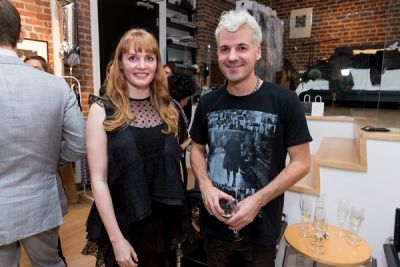 benjamin possolo in Kamila Dmowska Holiday Trunk Show