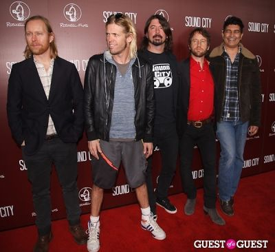 nate mendel in Sound City Los Angeles Premiere