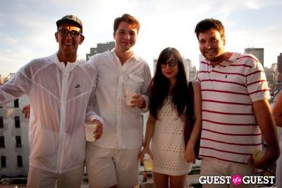 nick de-marco in New Museum's Summer White Party
