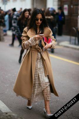 nausheen shah in Milan Fashion Week PT 2