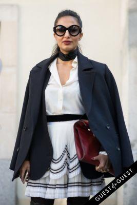 nausheen shah in Paris Fashion Week Pt 2