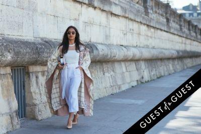 nausheen shah in Paris Fashion Week Pt 3
