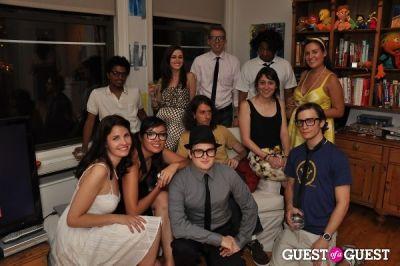 jon hoffman in Mad Men Theme Party