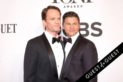 david burtka in The Tony Awards 2014