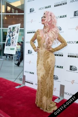 neon hitch in Los Angeles Premiere of ABOUT ALEX