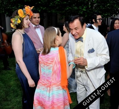 nera lerner in Frick Collection Flaming June 2015 Spring Garden Party