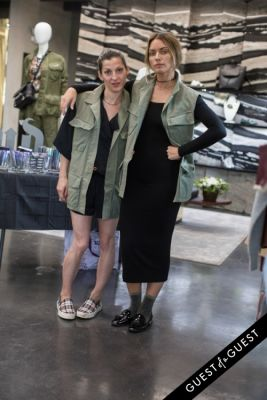 nevena borissova in Joy Bryant Launches Basic Terrain at CURVE