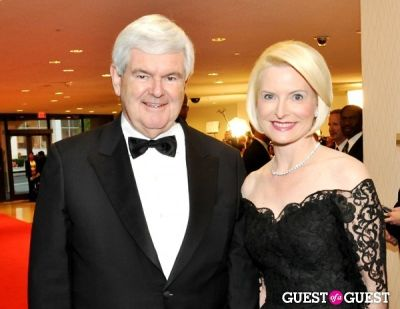 newt gingrich in The White House Correspondents' Association Dinner 2012