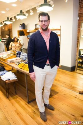 nicholas stefanelli in GANT Spring/Summer 2013 Collection Viewing Party