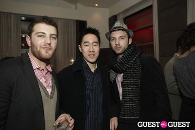 thomas tang in Billy Reid Fall 2010 After Party