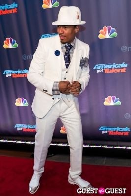 nick cannon in America's Got Talent Live at Radio City