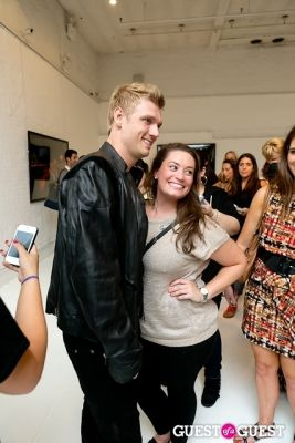 nick carter in Tyler Shields and The Backstreet Boys present In A World Like This Opening Exhibition