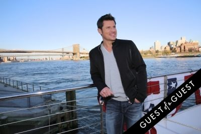 nick lachey in Hornblower Re-Dedication & Christening at South Seaport's Pier 15