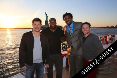 drew lachey in Hornblower Re-Dedication & Christening at South Seaport's Pier 15