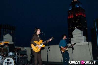 andy soukal in The Young Veins: Rooftop Performance