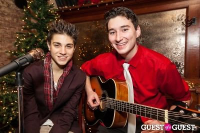 nick tangorra in Cupcakes that Care Holiday Launch Party