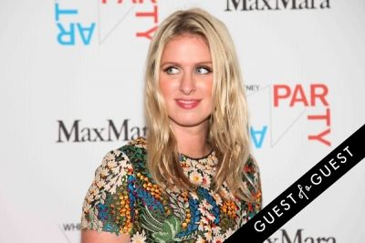 nicky hilton in Whitney Art Party 2014