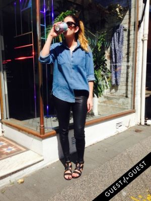 nicola w in Aussie Street Style March 2015