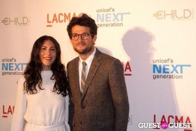 nicole cari in UNICEF Next Generation LA Launch Event