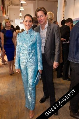 nicole dicocco-and-harrison-morgan in NY Academy of Art's Tribeca Ball to Honor Peter Brant 2015