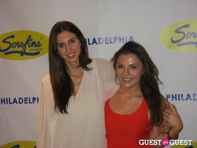 stephanie cirillo in Serafina Philadelphia Grand Opening Party